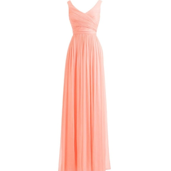 Dresses Peach Bridesmaid Dress For Her And For Him Poshmark